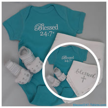 Load image into Gallery viewer, Blessed 24:7 Baby Gift Set