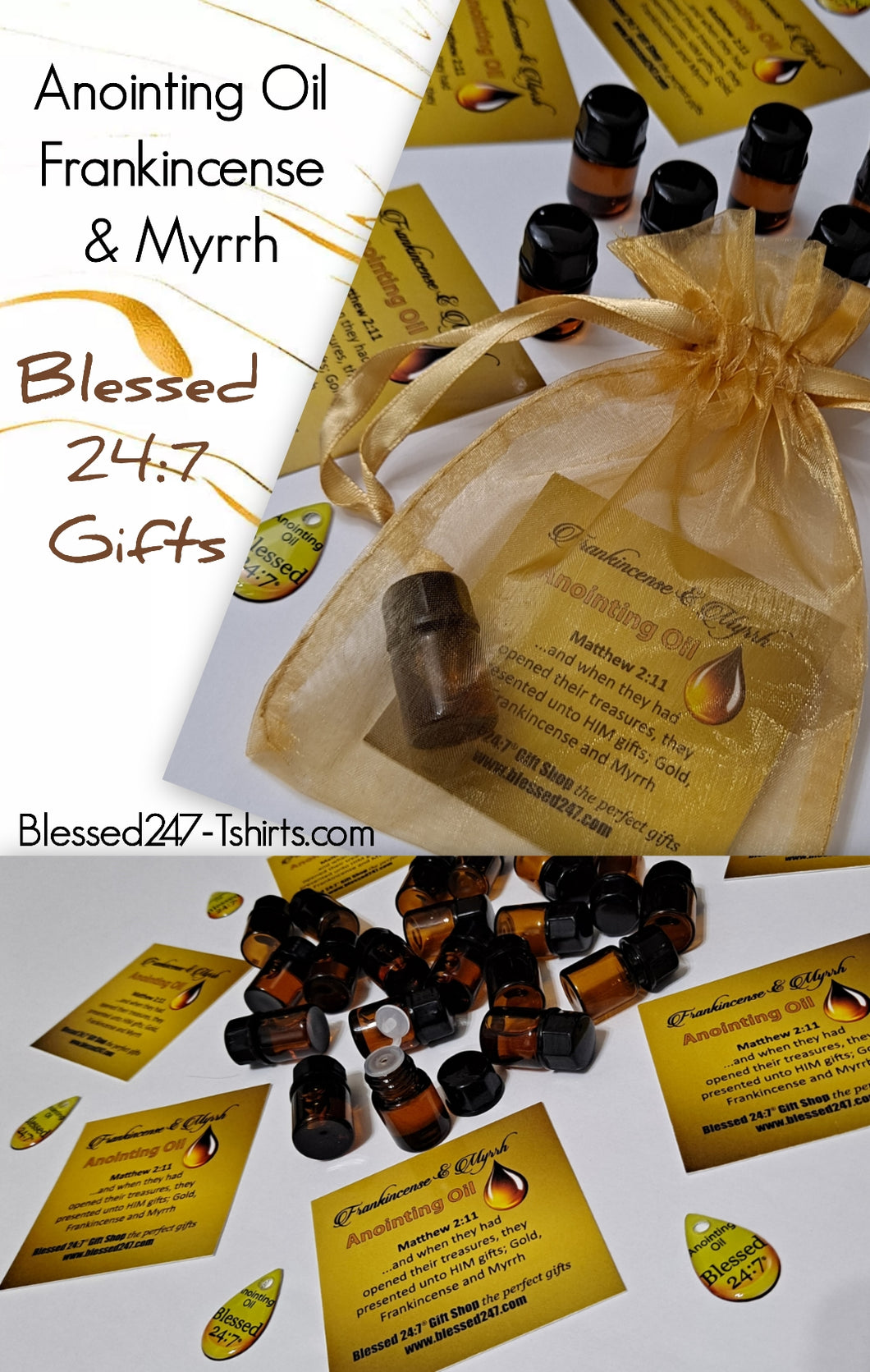 Anointing Oil Frankincense & Myrrh