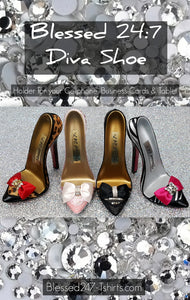 Blessed 24:7 DIVA High Heal Shoe Stand