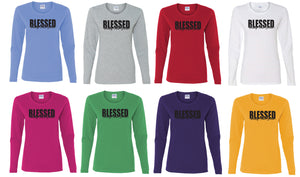 ON SALE Ladies Long Sleeve Tshirts