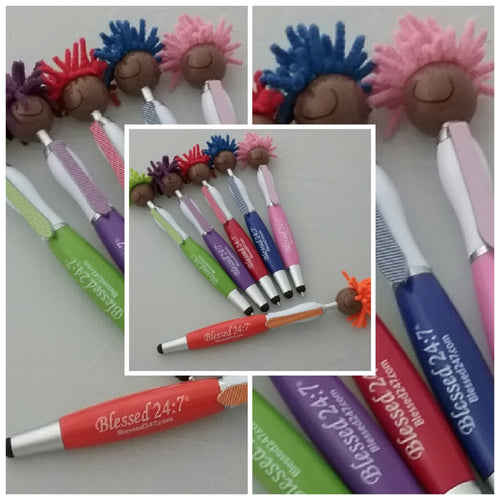 Blessed 24:7 Mop Toppers Pens