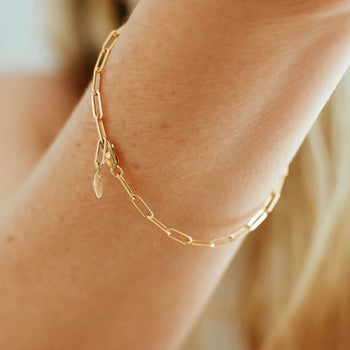Charming Link Chain Bracelet