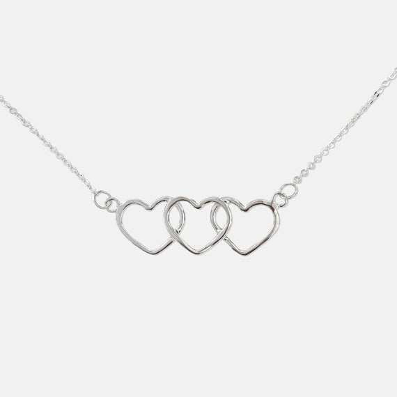 Silver Trinity necklace