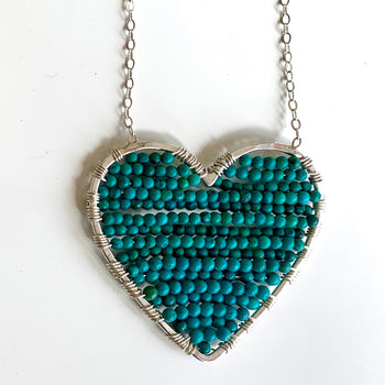 Luminous Love in Turquoise
