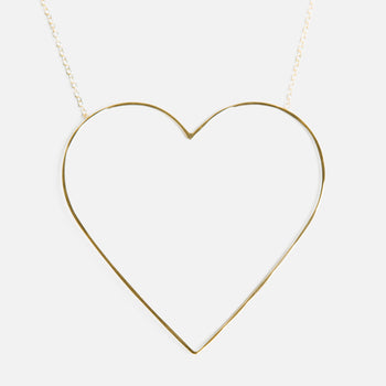 The Heart of Gold necklace