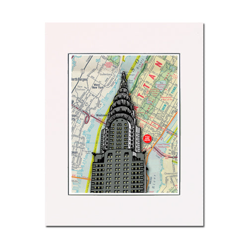 Chrysler Building, New York City, fine art print. Enhance your home ...
