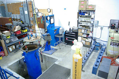 Example facility for hydrotesting.