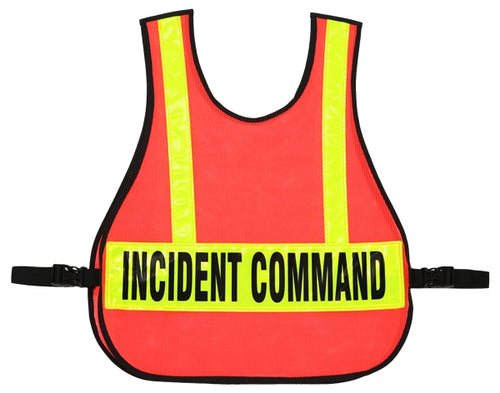 003 COMMAND VEST FOR IC TRIAGE/MC SYSTEM WITH REFLECTIVE STRIPS