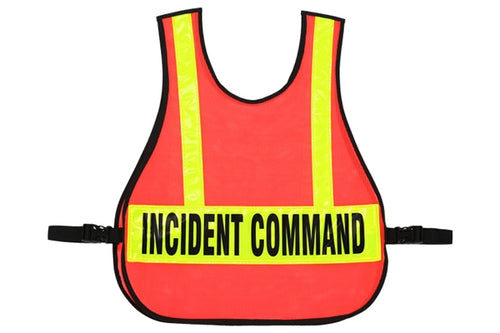 003L LARGE COMMAND VEST LARGE IC TRIAGE/MC REFLECTIVE STRIPS