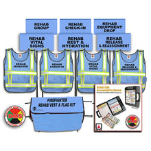 Load image into Gallery viewer, Fire REHAB Accountability System + REHAB Area Vest and Flag Kit
