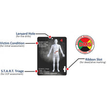 Load image into Gallery viewer, Active Shooter Victim Cards - Deck of 32