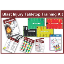 Load image into Gallery viewer, Enhanced Blast Injury Tabletop Training Kit