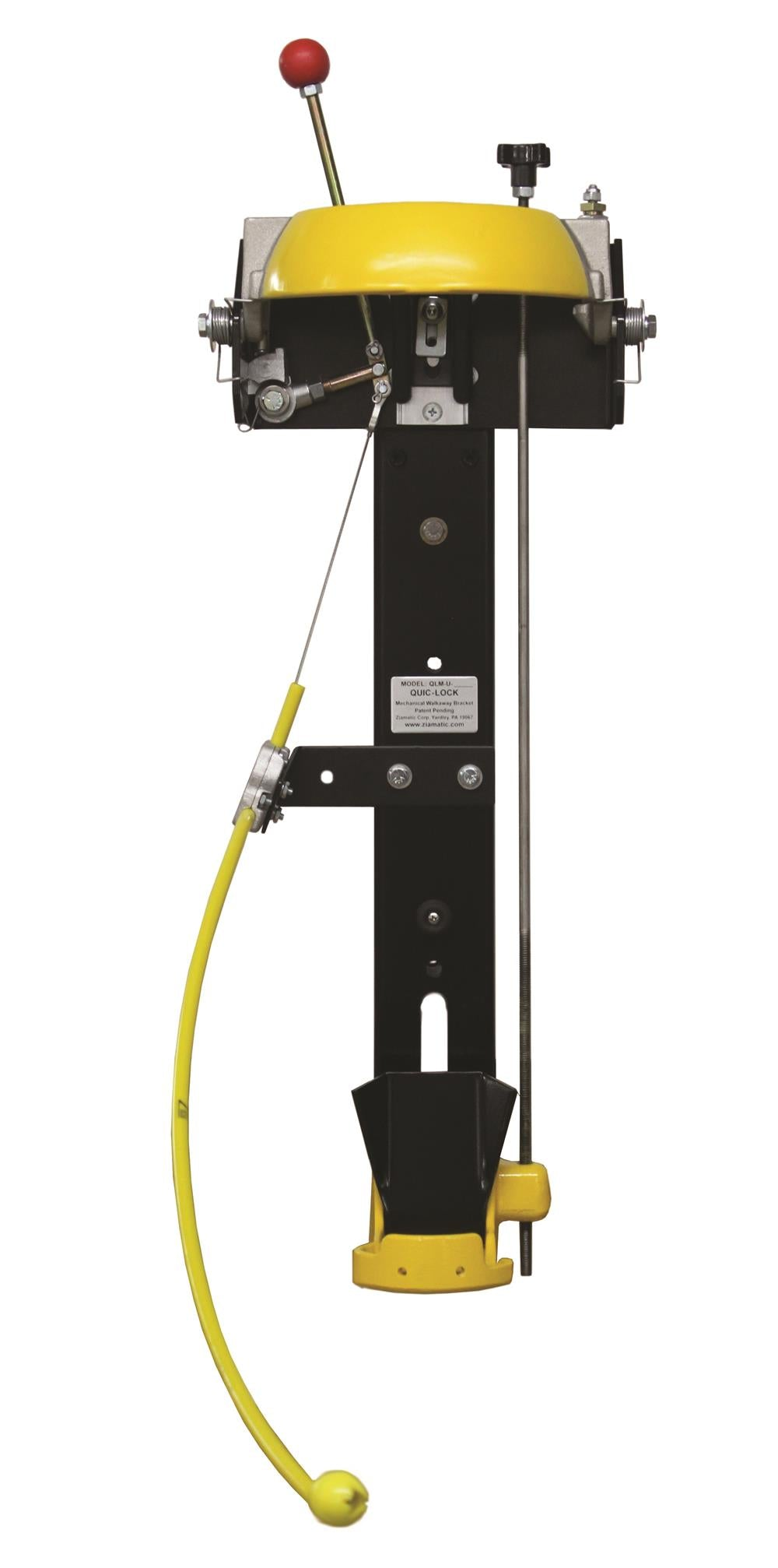 QUIC-LOCK MECHANICAL SCBA BRACKET