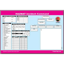 Load image into Gallery viewer, Multi-Hazard Incident Command Worksheet Kit