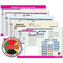 Load image into Gallery viewer, Incident Command Worksheet Multi-Pack Refill