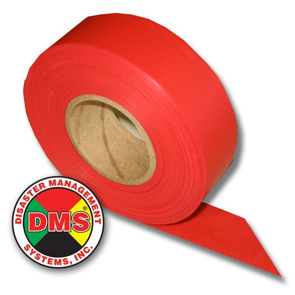 Triage Ribbon Roll, IMMEDIATE Red