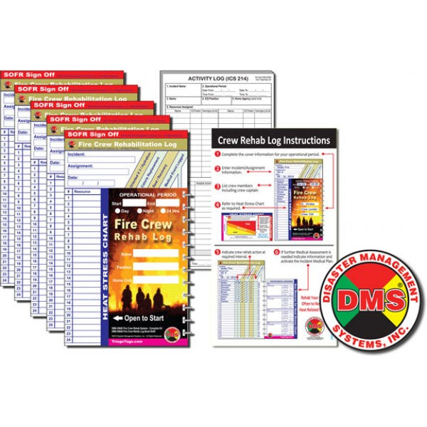 REHAB Log Book Refill Packs