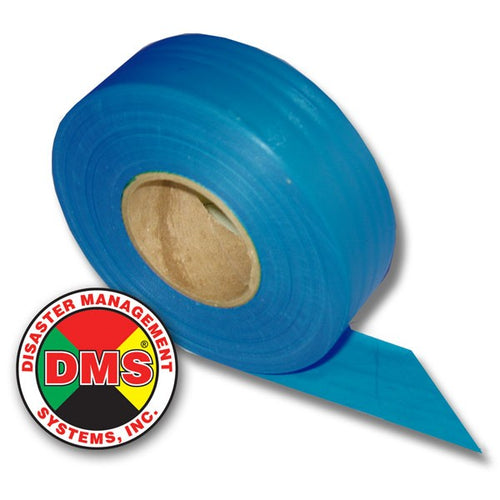 Triage Ribbon Roll, BLUE fits All DMS Ribbon Dispensers