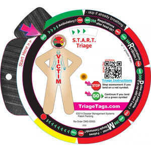 START Triage Trainer Wheel