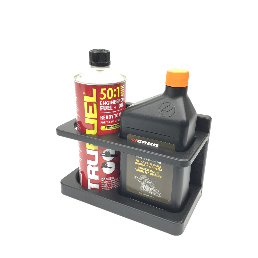 Premix Fuel and Bar & Chain Oil Combo Caddy