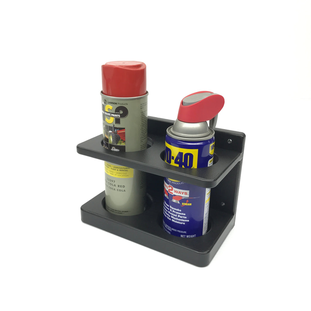 Spray Can Caddy- Double