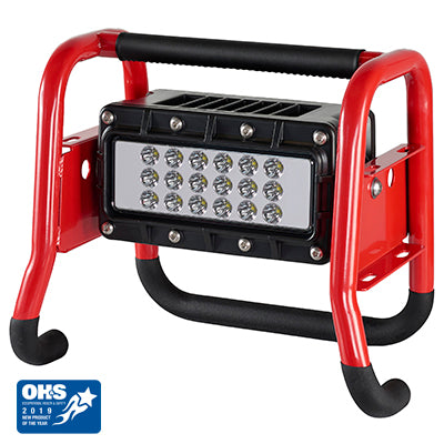 Portable Scene Light II - 120V AC/12V DC - Red