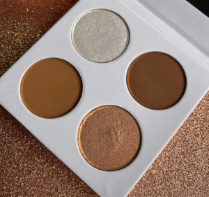 Chocolate Diamonds Face & Highlight Quad