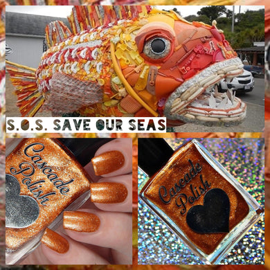 S.O.S (Save Our Seas) - Makers Dozen Collab
