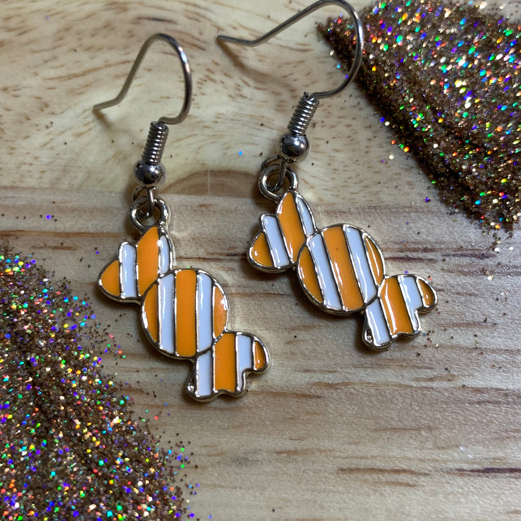 Orange Candies *Dangle Earrings*