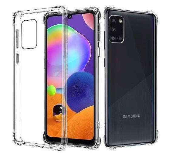 BLACKTECH Hard Protective Case - Clear for Samsung Galaxy A31