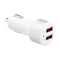 3SIXT Car Charger 4.8A + Lightning Cable 1m