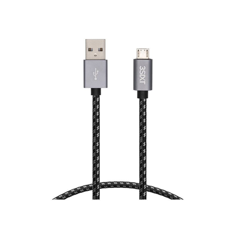 3SIXT Cable USB-A to Micro USB 30cm