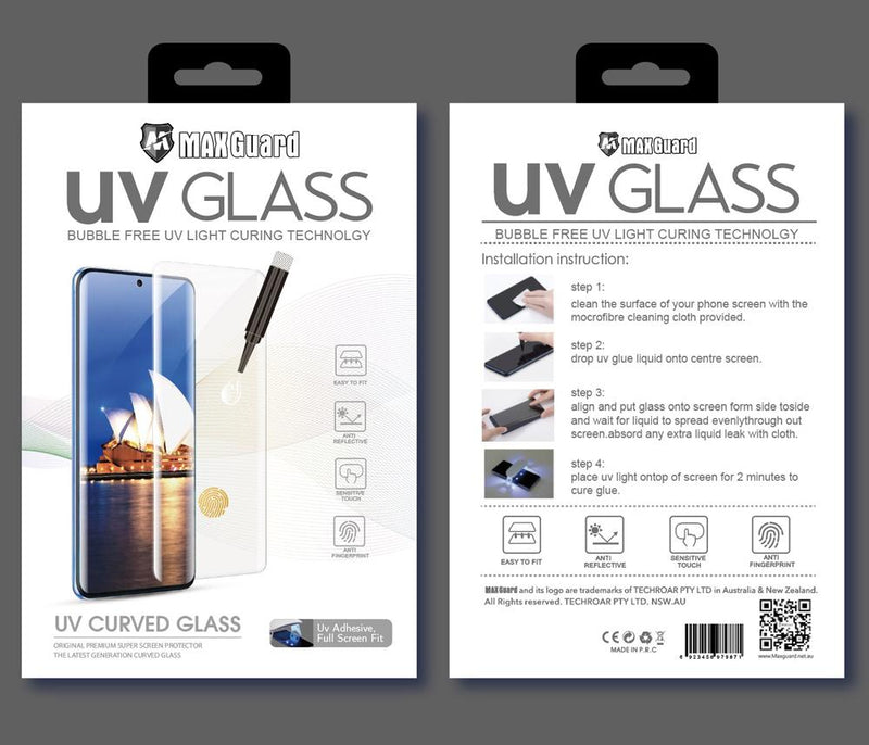 UV Glass screen protector for Huawei P30 Pro