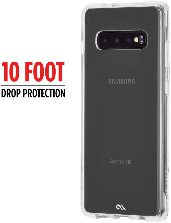 Case-Mate Tough Clear Case For Samsung Galaxy S10+