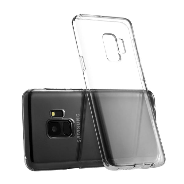 Soft Silicone Rubber Case - Clear for Samsung Galaxy S9