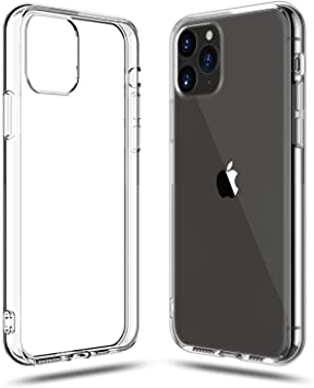 Soft Silicone Rubber Case - Clear for iPhone 11 Pro