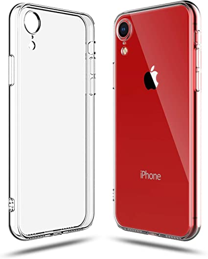 Soft Silicone Rubber Case - Clear for iPhone XR
