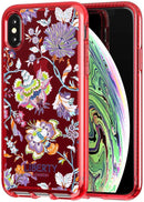 Tech21 Pure Christelle Liberty Red for iPhone Xs Max