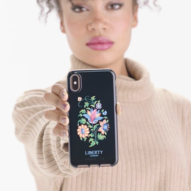 Tech21 Pure Clear Margot Liberty Print iPhone Xs Max