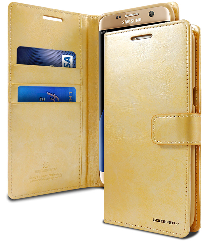 Goospery Mercury Blue Moon Diary for Samsung Galaxy Note 10 Plus