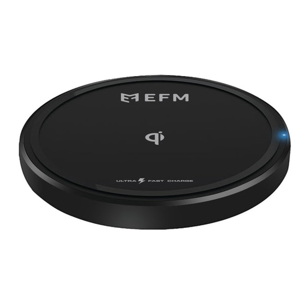 EFM 15W Wireless Charge Pad With USB to Type-C Charge Cable