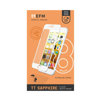EFM TT Sapphire Glass Screen Armour For iPhone 6/6s/7/8