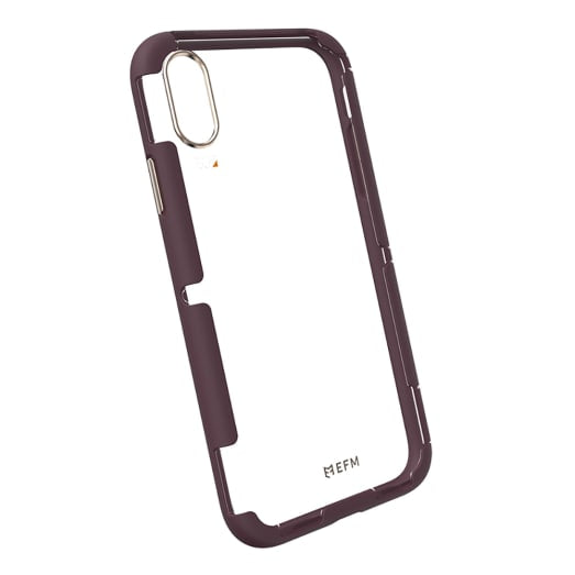 EFM Cayman D3O Case Armour For iPhone Xs Max - Mulberry Gold