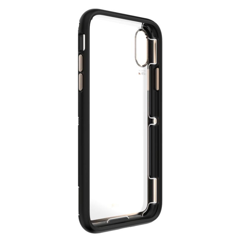 EFM Cayman D3O Case Armour For iPhone XR - Gold Trim