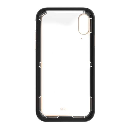 EFM Cayman D3O Case Armour For iPhone Xs Max - Gold Trim