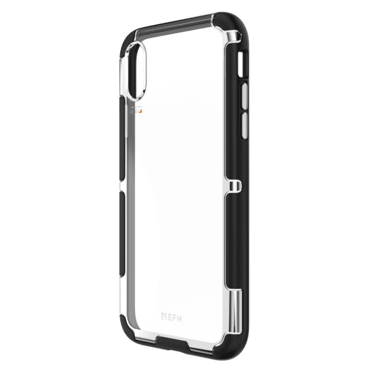 EFM Cayman D3O Case Armour For iPhone Xs Max - Silver Trim