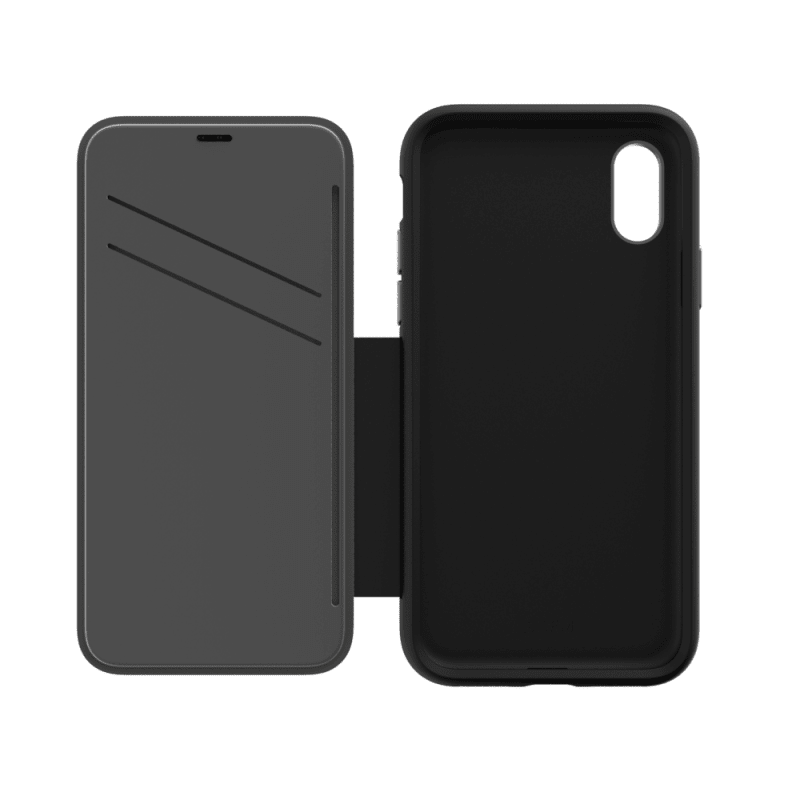 EFM Monaco Leather D3O Wallet Case For iPhone Xs Max