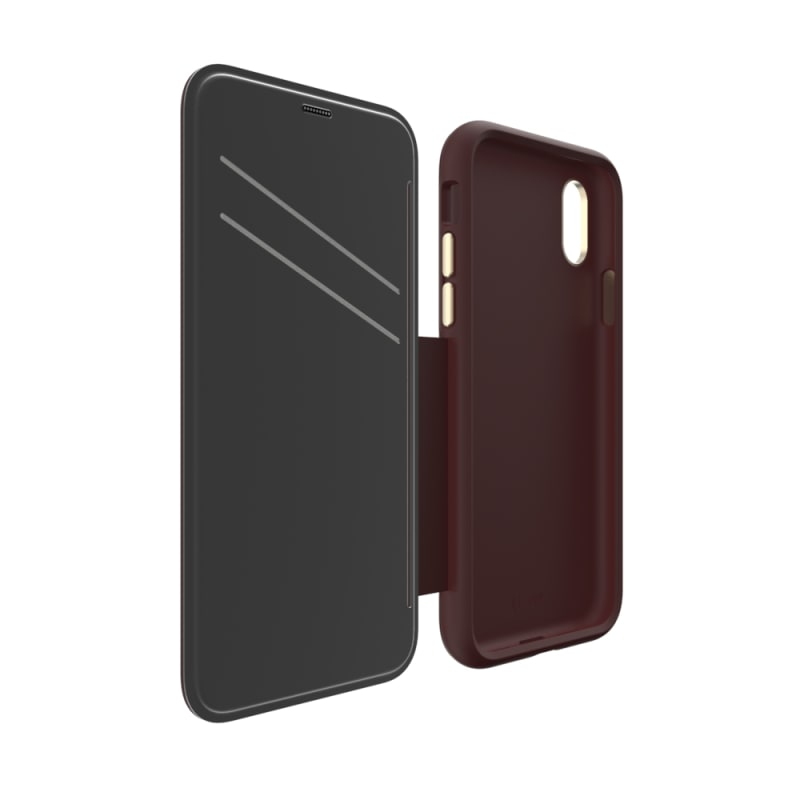 EFM Monaco Leather D3O Wallet Case For iPhone X/Xs