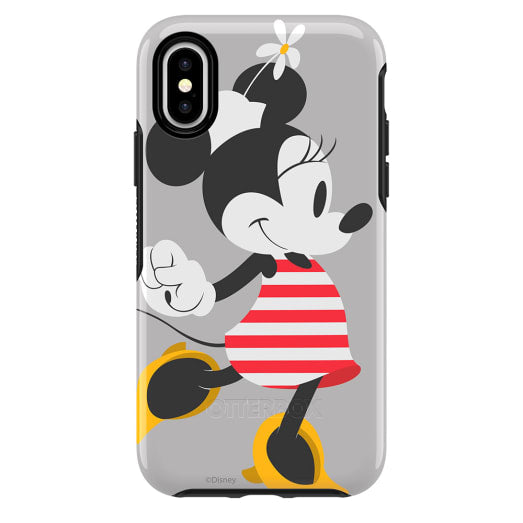 OtterBox Symmetry Disney Classic Case for iPhone X/Xs - Minnie Stripes