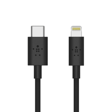 Belkin BOOSTCHARGE USB-C Cable With Lightning Connector